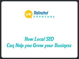 How Local SEO Can Help you Grow your Business