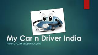 Rent a Car in India with Driver