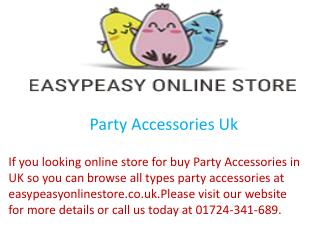 Party Accessories Uk