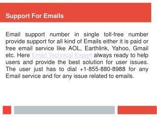 Earthlink Email Support |  1-855-880-8988
