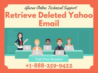 Retrieve Yahoo Deleted Emails Within 60 Seconds