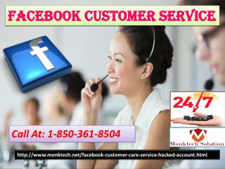 Unable To Post Status? Contact Facebook Customer Service 1-850-361-8504