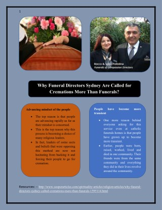 Why Funeral Directors Sydney Are Called for Cremations More Than Funerals?