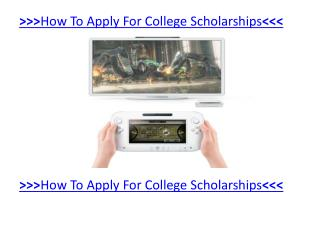 How Your Kids Can Get A scholarship