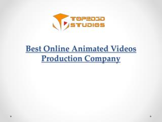 Animated Corporate and Cartoon Explainer Videos Company