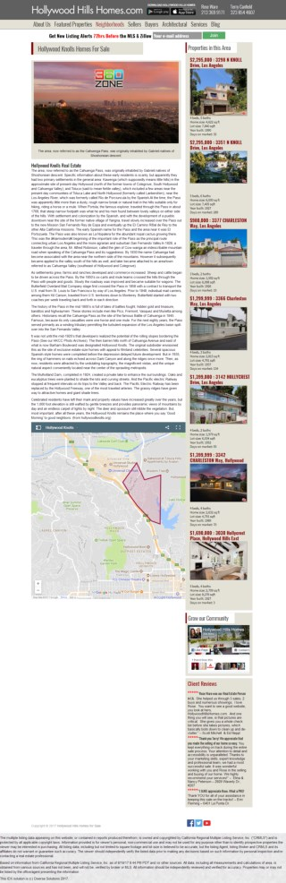 Hollywood Knolls Homes For Sale