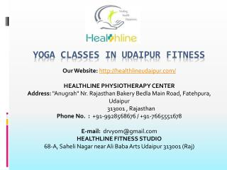Yoga Classes in Udaipur Fitness