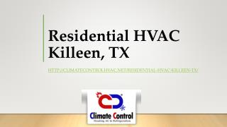 Residential HVAC Killeen, TX
