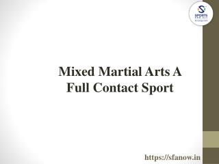 MMA Tournaments At Sports For All