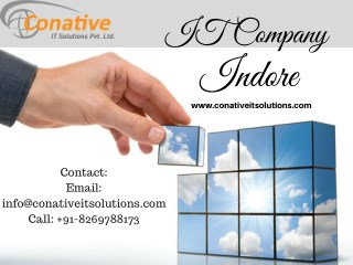 IT Company Indore, IT Solutions Indore, Software Company Indore,