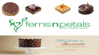 Ride on Ferns N Petals for Online Cake Delivery in Singapore