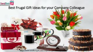 Top 5 Frugal Gift Ideas for your Company Colleague