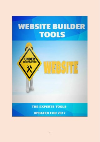 Top Website Builder Tools