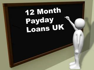 12 month payday loans UK
