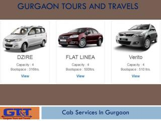 Cab Services In Gurgaon - Gurgaon Tours And Travels