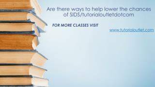 Are there ways to help lower the chances of SIDS/tutorialoutletdotcom