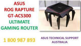 Asus Rog Rapture GT-AC5300: Ultimate Gaming Router