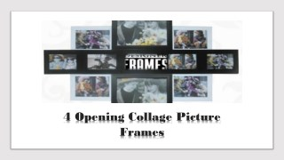 4 Opening Collage Picture Frames