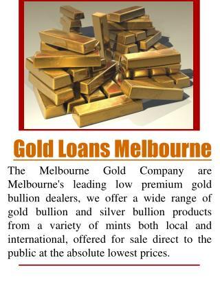 Buy Gold Bullion Melbourne