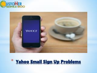Yahoo Email Sign Up Problems