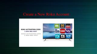 Create a New Roku Account