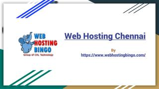 Web hosting chennai, Dedicated Server Hosting India