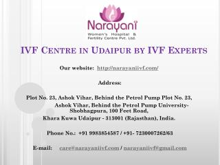 IVF Centre in Udaipur by IVF Experts