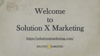 Web Designer San Francisco | Solution X Marketing