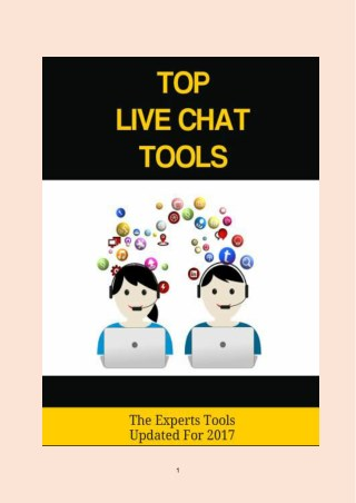 Top Live Chat Tools