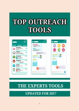 Top 11 Outreach Tools