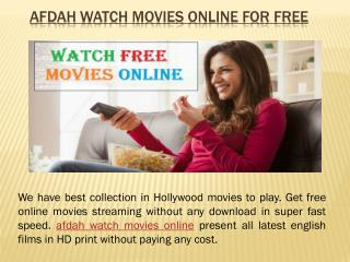 Hollywood Afdah Watch Movies Online For Free