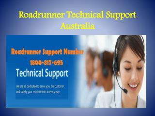Roadrunner Technical Support Number 1800-817-695