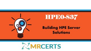 HPE0-S37 Questions Answers with HPE0-S37 Dumps