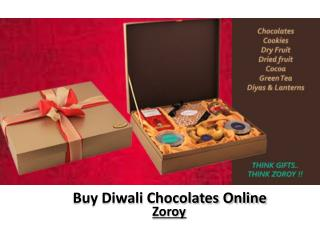 Zoroy - Buy Diwali Chocolates Online in India