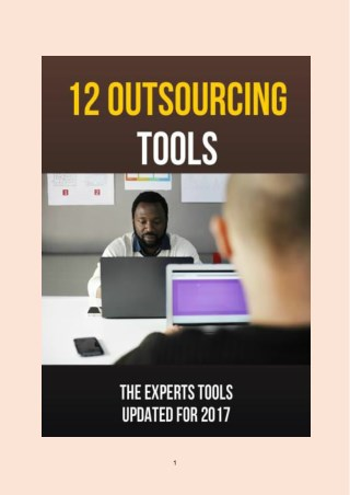 Top 12 Outsourcing Tools