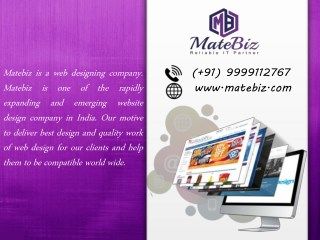 Matebiz Best Competitors In The Best Web Design Company