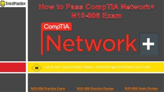 How to Guide: CompTIA N10-006 Study Guide Essentials For Beginners