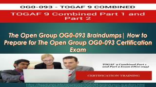 Latest The Open Group OG0-093 Real Question Question Answers