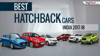 Best Hatchback Cars in India 2017-18, Best Small Cars in India