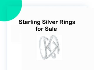 Sterling Silver Rings for Sale