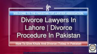 Porcedure Of Talaq In Pakistan | Divorce procedure in Pakistan