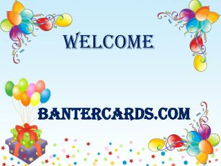 Add fun to a party with birthday balloons from Banter Cards