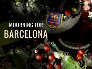 Barcelona in mourning