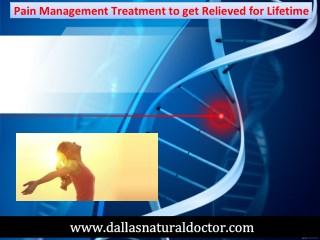 Pain Management Treatment