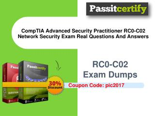 CompTIA Advanced Security Practitioner RC0-C02 Network Security