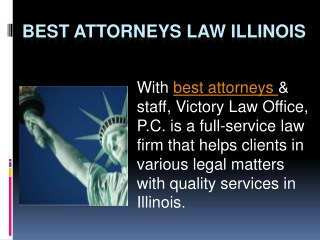 Best Attorneys Law Illinois