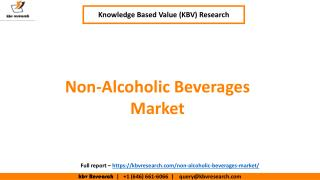 Non-Alcoholic Beverages Market
