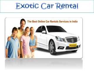 Exotic Car Rental New Orleans LA