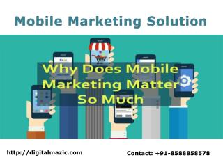 Mobile Marketing Solution Company