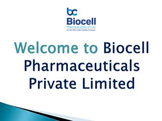Top PCD Pharma Company in Chandigarh | Biocell Pharmaceuticals Private Limited